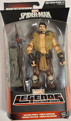 Marvel Legends Spider-Man 6'' KRAVEN Savage Force Rhino BAF Hasbro Sealed