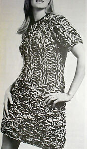 1677-RETRO-1960s-EASY-KNITTING-PATTERN-Womans-Mini-Dress-32-37-Extracted-Copy