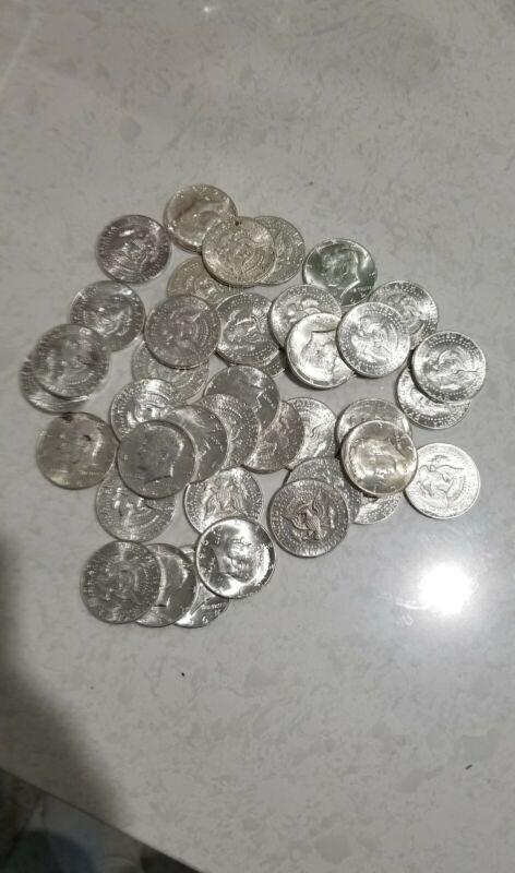 1964 90% Silver Kennedy Half Dollar Free Shipping