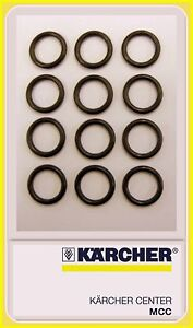 Spare o-rings x 12 for hose, gun, lance & nozzle to suit Karcher
