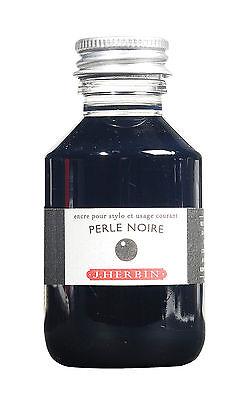 J. Herbin Fountain Pen Ink 100Ml Perle Noire