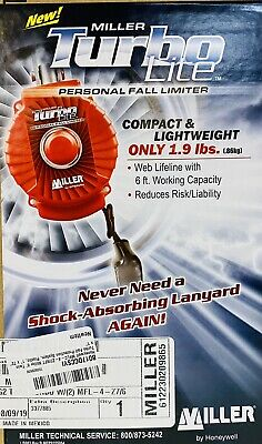Honeywell Mflc-4-z76ft Miller 6 Twin Turbo Fall Protection System