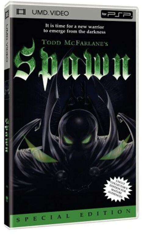 Spawn Animated UMD For PSP 3E