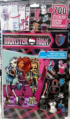 700x Monster High Sticker + Stickeralbum Aufkleber, Album, Frankie, Clawdeen neu Monster High Sticker
