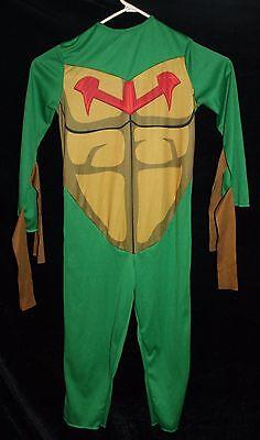 Teenage Mutant Ninja Turtle Jugend Kinder-Kostüm GRÖSSE S Halloween Einteiler ()