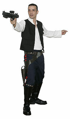 Star Wars Han Solo Costume New Hope Jacket Shirt Pants Film Set Quality from (Han Solo Kostüm Shirt)