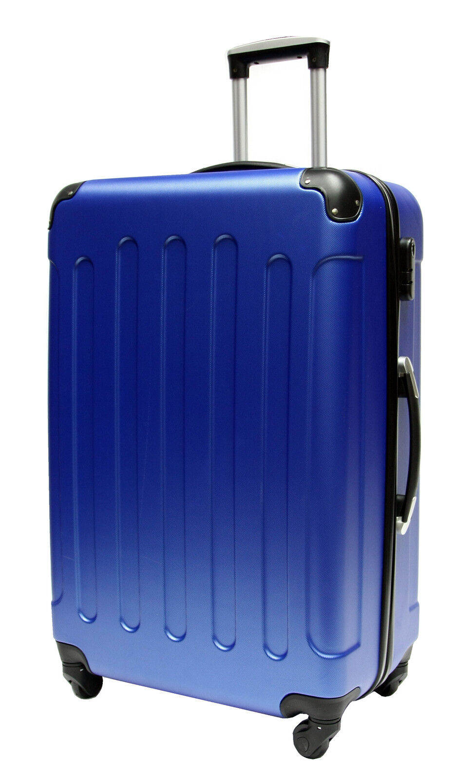 hard shell suitcase 4 wheel spinner luggage trolley cabin. Black Bedroom Furniture Sets. Home Design Ideas
