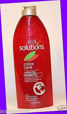 1 Real Solutions COLOR CARE Shampoo Sulfate-Free w/ VITAMIN E, SOY PROTEIN Soy Protein Shampoo