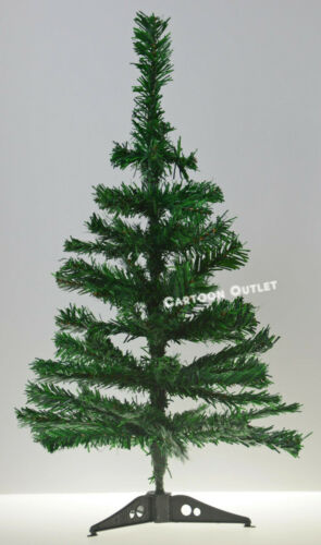 CHRISTMAS TREE 2 FT GREEN TABLE TOP CHARLIE PINE SMALL MINI DESK HOME ARTIFICIAL