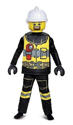 New Firefighter Lego Deluxe Child Costume by Disguise 18231 Costumania