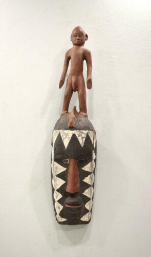 African Mossi Mask Male Figure Burkina Faso