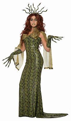 Medusa Snake Skin Ball Dress Adult Costume - Snake Dress Up Costume