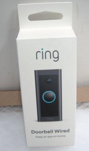 NEW RING 1080p HD Video Doorbell Wired Motion Alerts& 2 Way Talk + Free SHIP