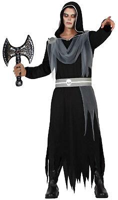 Herr der Dunkelheit mit Totenkopf Axt Halloween Tod Finsternis - Herr Der Finsternis Kostüm