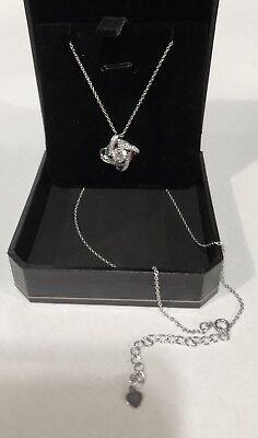 Sterling Silver Pendant  Anniversary Necklace Fine Jewelry-New In Box