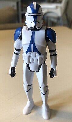 Hasbro Star Wars 501st Clone Trooper 2013 No Blaster Preowned Loose