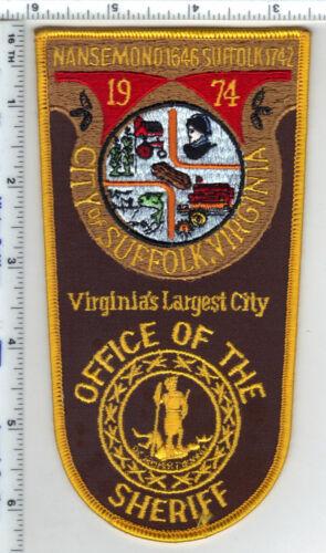 City of Suffolk Sheriff