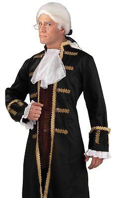 Kolonial Jabot & Manschette Satz Erwachsene Herren Halloween - Kolonial Herren Kostüme