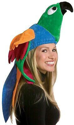 Rasta Imposta Parrot Tropical Bird Hat Adult Halloween Costume Accessory GC2013 - Tropical Bird Halloween Costume
