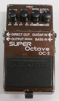 Boss Super Octave 3 Effects Pedal Nerang Gold Coast West Preview