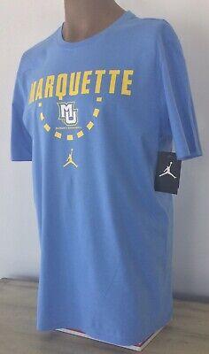 Marquette Golden Eagles Women's Basketball Nike Jordan Cotton Core Tee Sz LG NWT