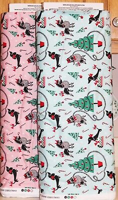 - Christmas Canine Dogs Presents Candy Canes by Michael Miller SOLD SEPARATELY bty