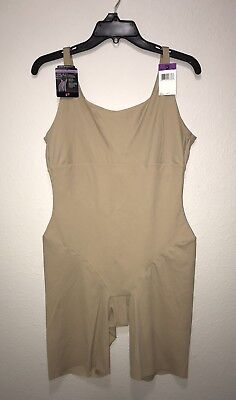 Nude Full Body Suit (NWT Maidenform $63 Nude Sleek Smoothers Full Body Slimming Suit Size)