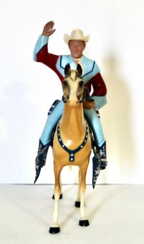 Hartland Roy Rogers and Trigger vintage toy figure set