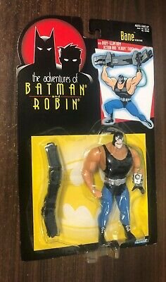 ADVENTURES BATMAN ROBIN (1995 Kenner) -- Bane Action Figure -- On Card, used for sale  Shipping to India