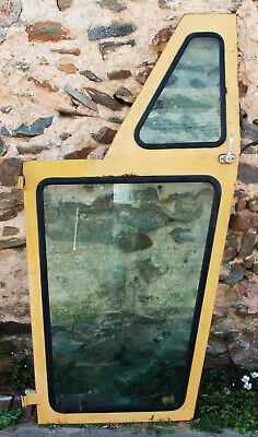 Caterpillar Tractor Loader Left Side Cab Door W Top Bottom Glass Window 65