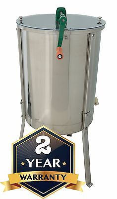 Premium Quality Honey Extractor 4/8 Frame Beekeeping 304 Stainless Steel