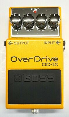 BOSS OD-1X Over Drive Guitar Effects Pedal 2018 #5 with Box DHL Express or EMS