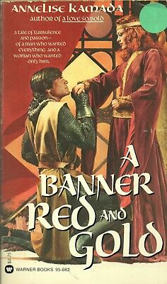 A Banner Red And Gold By Annelise Kamada Warner Books Pb 1980 1980 1St