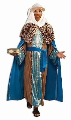 Sapphire Wiseman Adult Costume Mens Biblical Christmas Manger Nativity Wise Man
