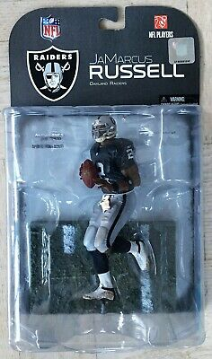 NEW 2008 McFarlane Toys NFL Sports Picks JaMarcus Russell Oakland Raiders
