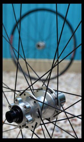 """HANDBUILT Hope Pro 4 silver boost hubs / DT Swiss EX511 29"""" / Sapim Race."""