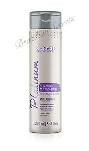 CADIVEU-Biondo-Platino-Argento-Shampoo-SALDO-tinta-per-capelli-Per-capelli-matizador-250ml