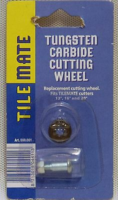Tungsten Carbide Cutting Wheel Replacement fits Tilemate Cutters Tile