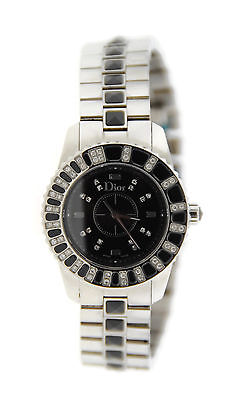Christian Dior Christal Diamond Stainless Steel Watch CD112116M001