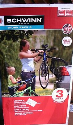 Allen Sports Deluxe 2-Bike Car Trunk Mount Rack Easy to Assemble 3DAYSHIP