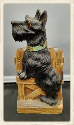 Vintage Scotty Dog Wall Pocket