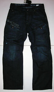 New G Star Raw 'STORM ELWOOD TRAP EMBRO' Jeans 32