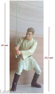 LucasFilm 1999 Grande figurine Star Wars Qui-Gon Jinn numéroté 37244 comprar usado  Enviando para Brazil