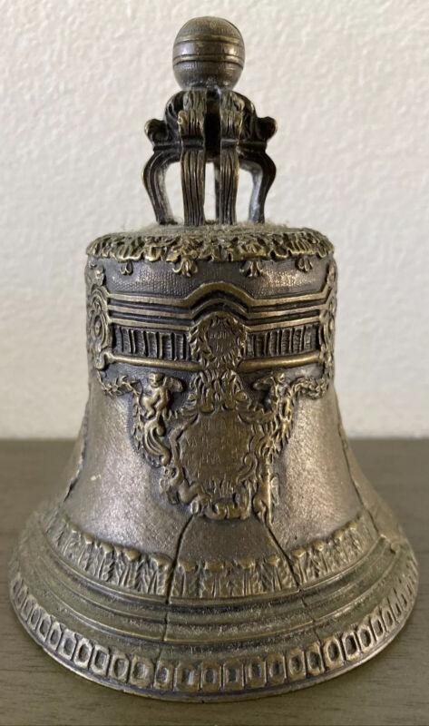 Antique Russian Bronze Tsar Bell 1870s Inscribed