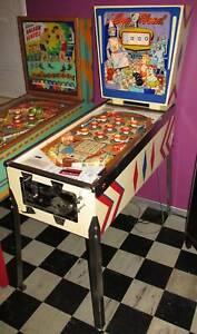 Gottlieb Dec 1961 EGGHEAD vintage Pinball - fine restored!