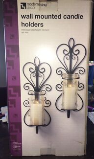Modern Living Wall Mounted Candle Holders