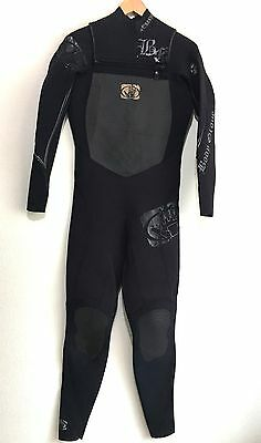 Body Glove Mens Full Wetsuit Size Large L Fusion 3/2 Chest Zip