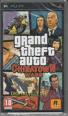 Grand Theft Auto Chinatown Wars Sony PSP Brand New Factory Sealed