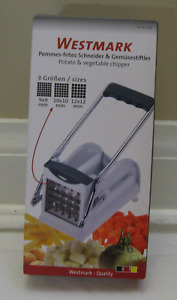Westmark  French Fry Cutter with 3 Adjustable Blades-NEW $32.50