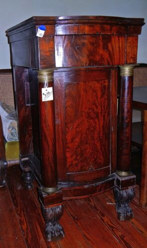 Antique Side Liquor  cabinet   French Empire Style 1800